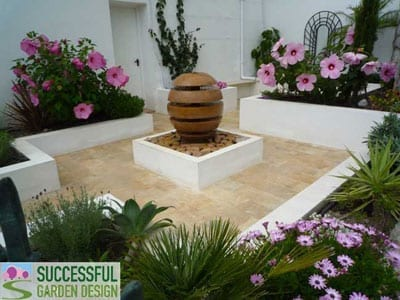 How To Plant A Small Courtyard Garden