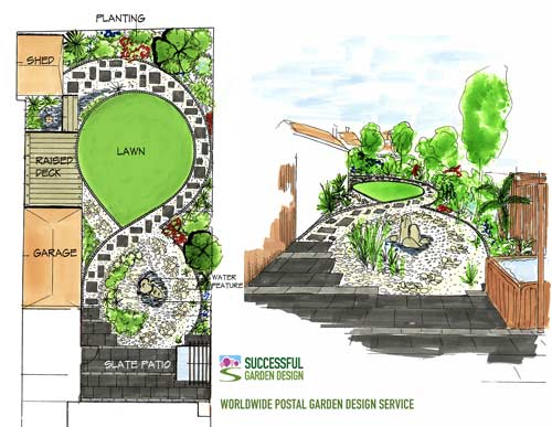 Worldwide Postal Garden Design Service