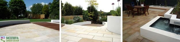 Contemporary-paving