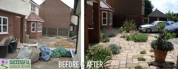 Front garden design makeover – Case study