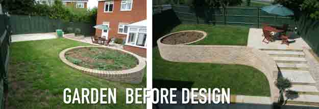 Garden Design SOS – Design rescue, AFTER the landscaper had finished…