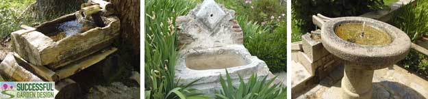 Rustic-water-features