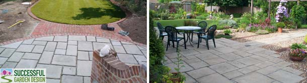 Paving ideas for traditional garden styles