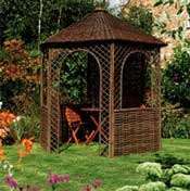 Gazebo-wicker