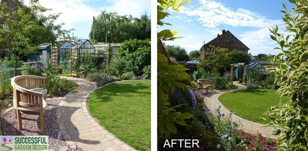 Garden Transformation – GGF Design Student – Sam Cowen