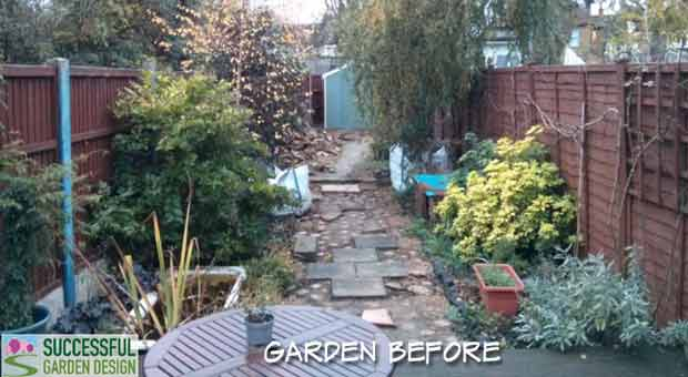 Long, Narrow & Odd Shape Garden – Rae & Geoff's Design