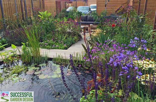 Long Modern Garden Design - Part 2 - Successful Garden Design