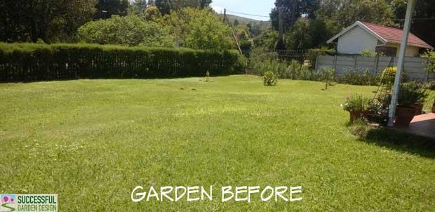 Garden Design Plan – South Africa