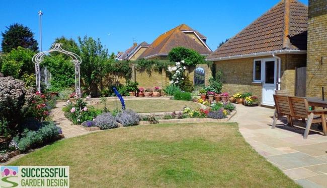 Wide Garden Design - Howard's Garden Update - Successful ...