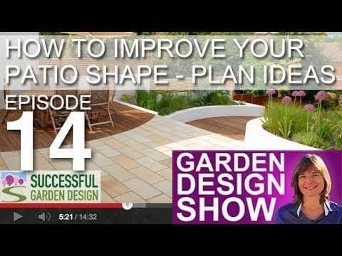 [DESIGN SHOW 14] Patio shapes that improve your garden