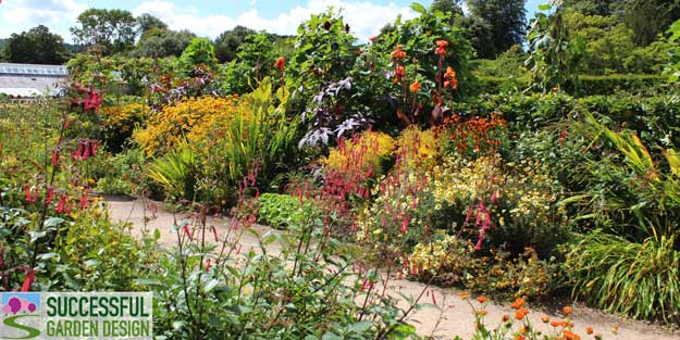 Successful Garden Design Tips – A cunning way to disguise ugly vegetable patches!