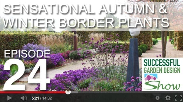 [DESIGN SHOW 24] Sensational Autumn & Winter Border Planting Tips