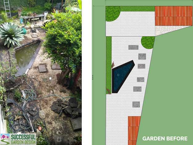 Odd shaped garden – how to design an awkward shaped garden