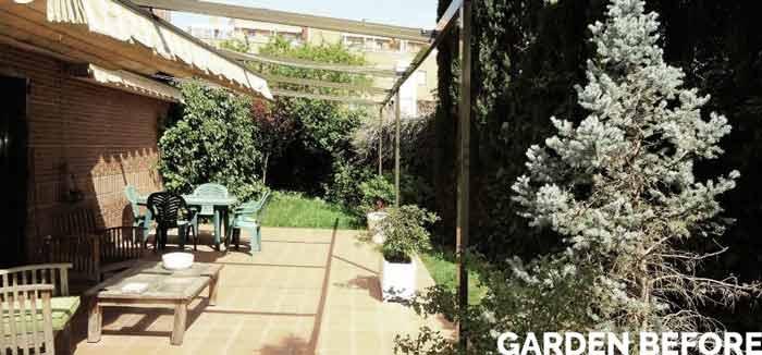 Awkward Triangular Shaped Garden Case Study – SGD Student Ana, Madrid