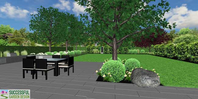 Contemporary Garden Design – SGD student Tessa Marshall