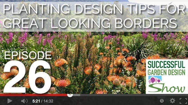 [DESIGN SHOW 26] Planting design tips for great looking borders