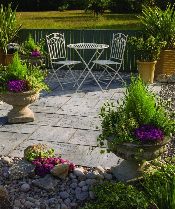 Bradstone Ashbourne - Patio Pack - Weathered Grey - 3600x2700