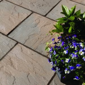 Bradstone Ashbourne - Patio Pack - York Brown - 3600x2700