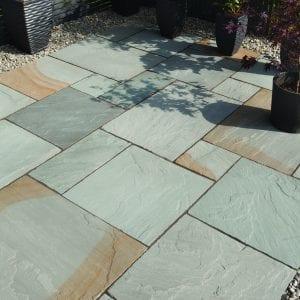 Bradstone Blended Natural Sandstone - Paver - Rustic Grey - 600x900