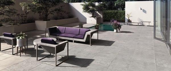Bradstone Manzano - Paver - Grey - 600x600
