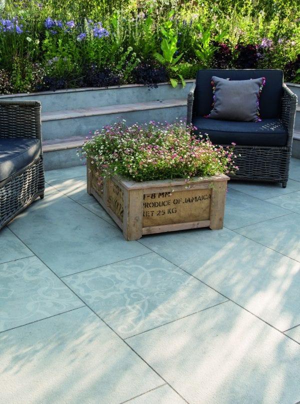 Bradstone Manzano - Paver - Grey Mosaic - 600x600