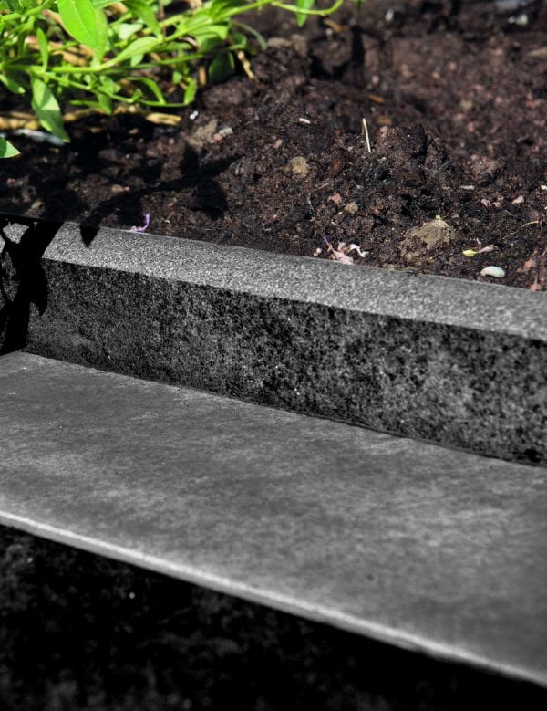 Bradstone Mode Profiled - Edging/Coping - Dark Grey - 600 x 300