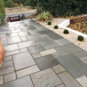 Bradstone Natural Sandstone - Paver - Silver Grey - 600x600