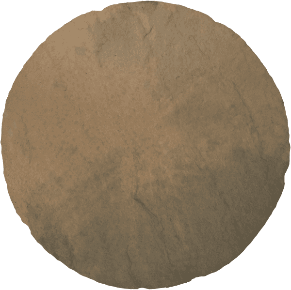 Bradstone Round Stepping Stone - Stepping Stones - Brown Blend - 450diam