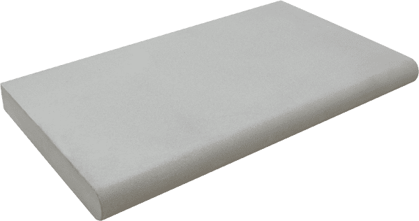 Bradstone Smooth Natural Sandstone - Step Corner - Silver Grey - 350x350