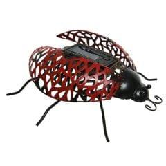 Ellister LED Solar Ladybird Ornament