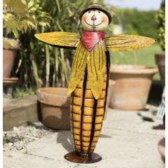 La Hacienda Sweetcorn Scarecrow Garden Ornament