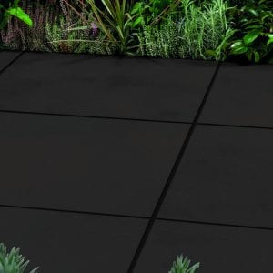 Simply Paving Cortile Dark Grey 600 x 600