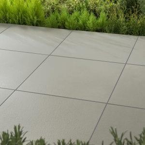 Simply Paving Cortile Light Grey 600 x 600