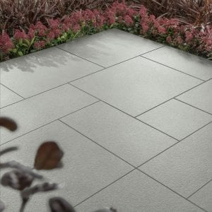 Simply Paving Tramonto Light Grey Patio Pack