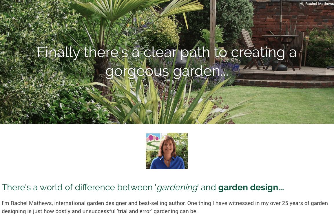 free-classes - Successful Garden Design