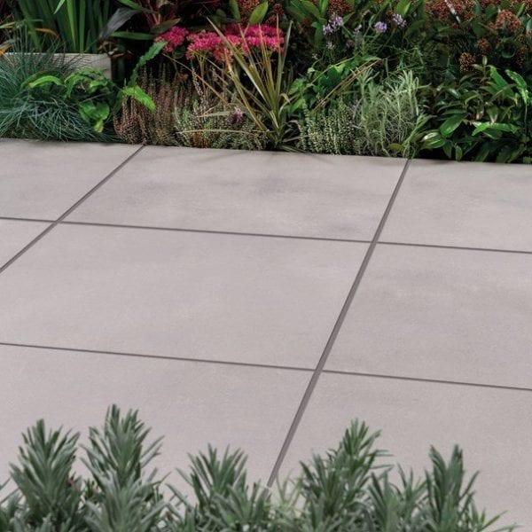 Bradstone Tephra - Paver - Light - Grey - 600x600
