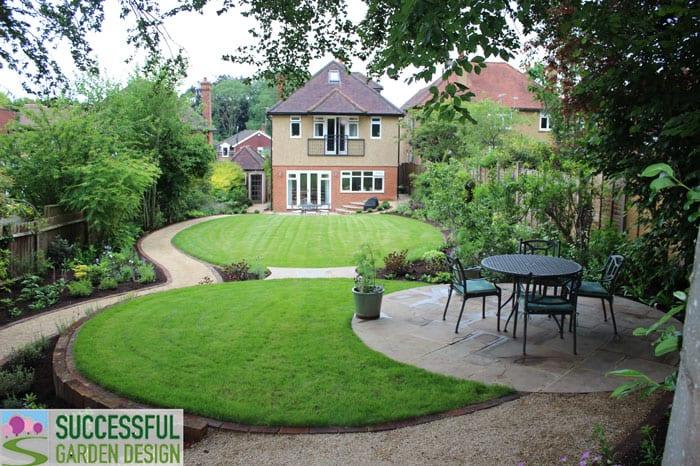 Long garden design – SGD student Karin