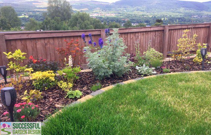 Angela & Nick's garden re-design – Wales