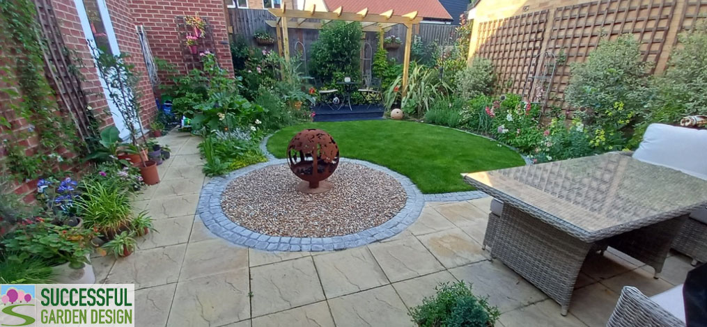 Small Garden Re-Design – David & Margaret's Garden